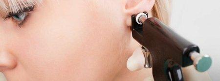 Пирсинг (прокол) мочки уха